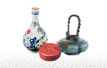 中国骨董品の買取