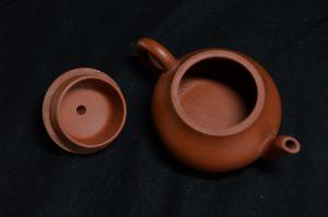 惠孟臣製 朱泥茶壺